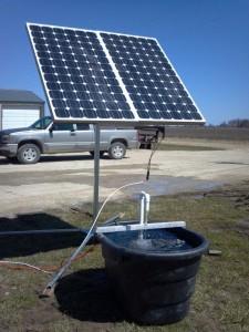Solar-Pump-Running