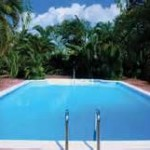 Solar energy heating pool system