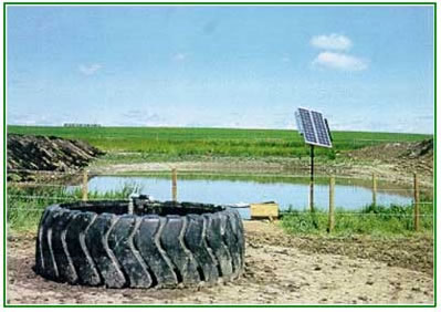 Proud to offer quality solar pumping systems call today for Pond water system